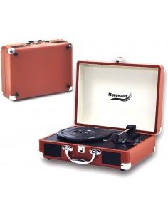 Novonova Platine Vinyle 33/45/78 Tours,Tourne-Disque Bluetooth ,Marron